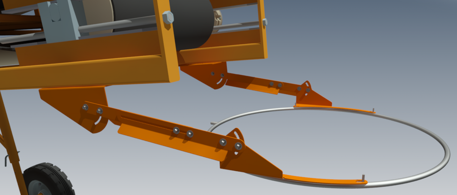 The new bracket design is available to suit the entire range of DustBoss DB-R sizes from 17-100 inches