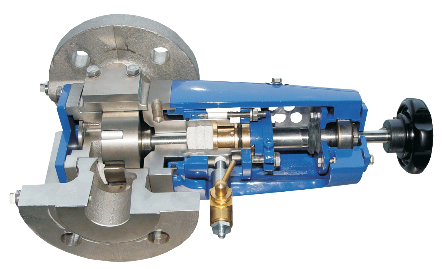 The chocolate producer relies on a Desmi close-coupled internal gear pump