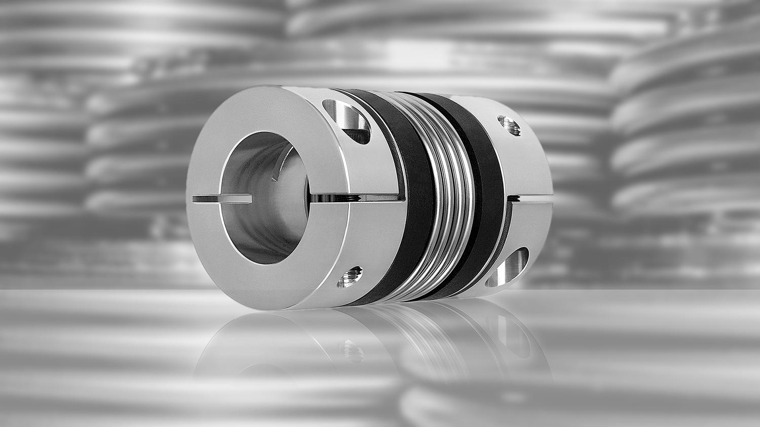 For heavier duty applications where a zero-backlash design is critical, R+W ST series torque limiting couplings are available in sizes from 2,000Nm to 165,000Nm