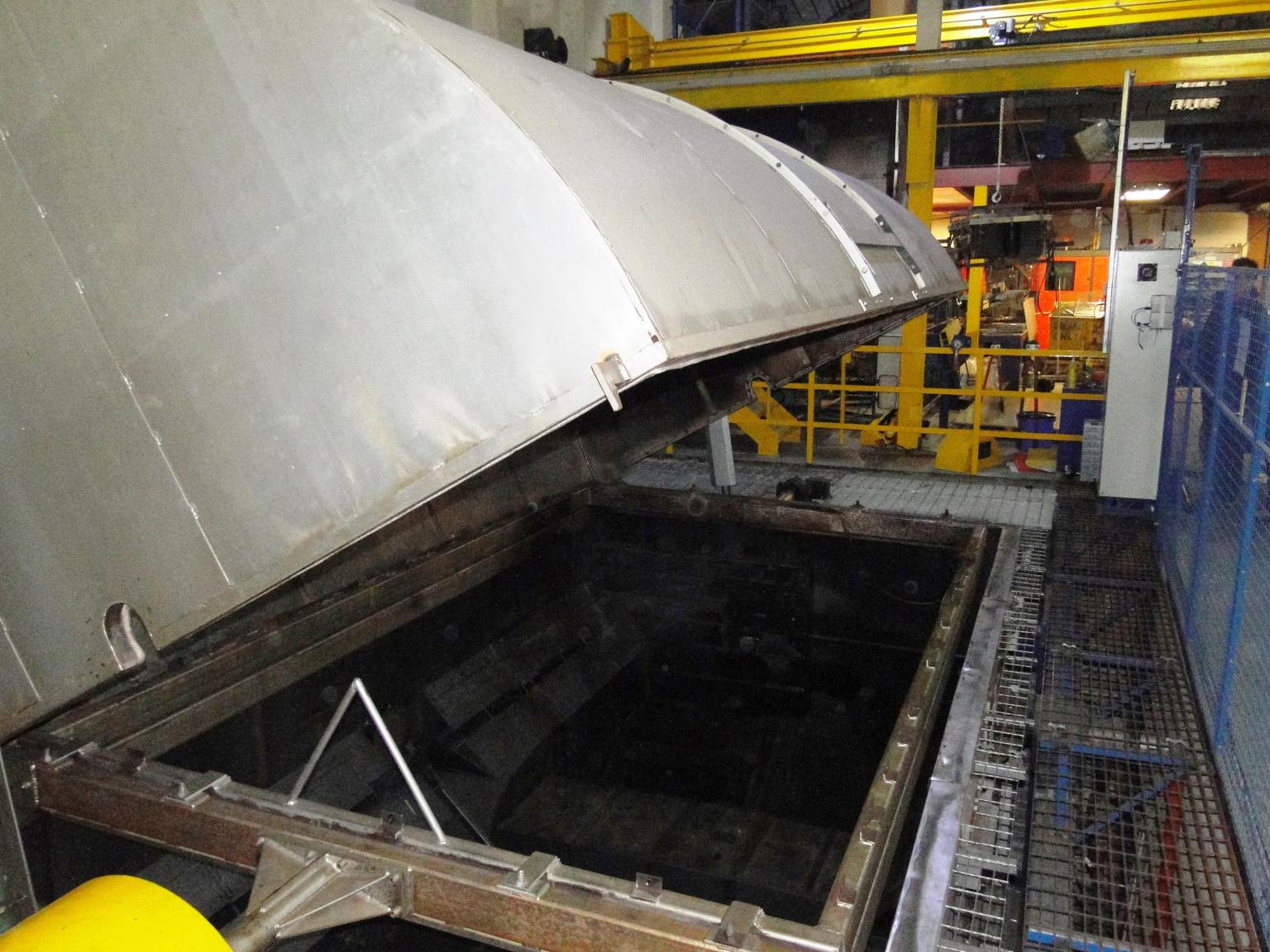 The rock-and-roll rotational moulding facility from Rotomech Engineering installed at Etills