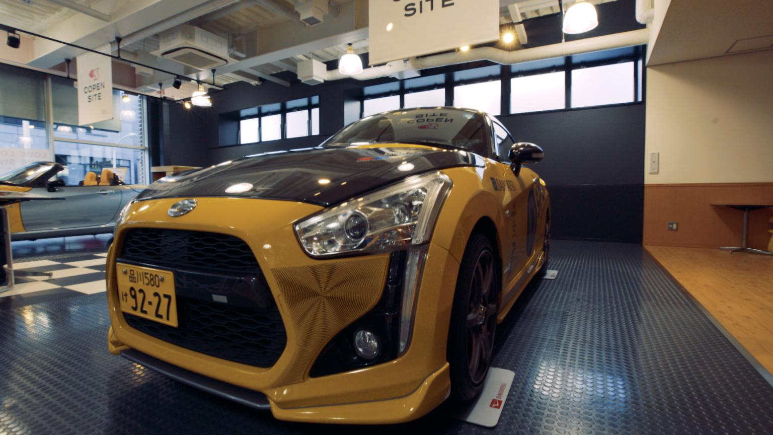 The latest Daihatsu Copen can be adorned with different 3D-printed patterns and colours