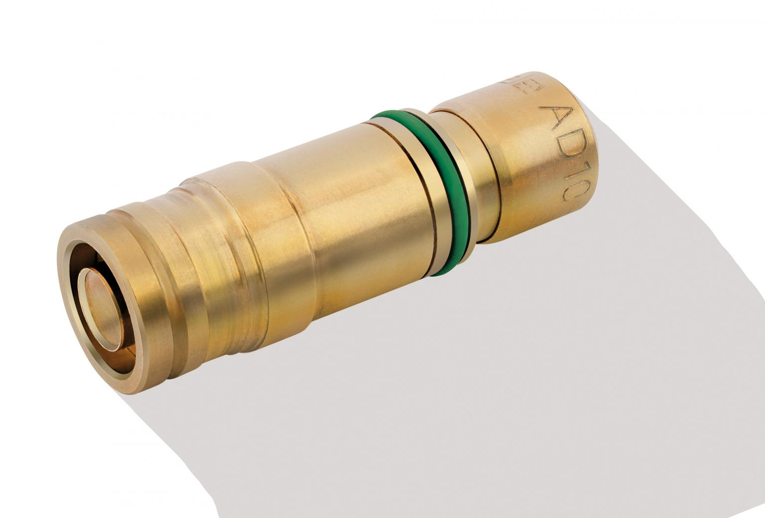 The connection inserts are manufactured from brass or stainless steel and are available in different diameters and connection types