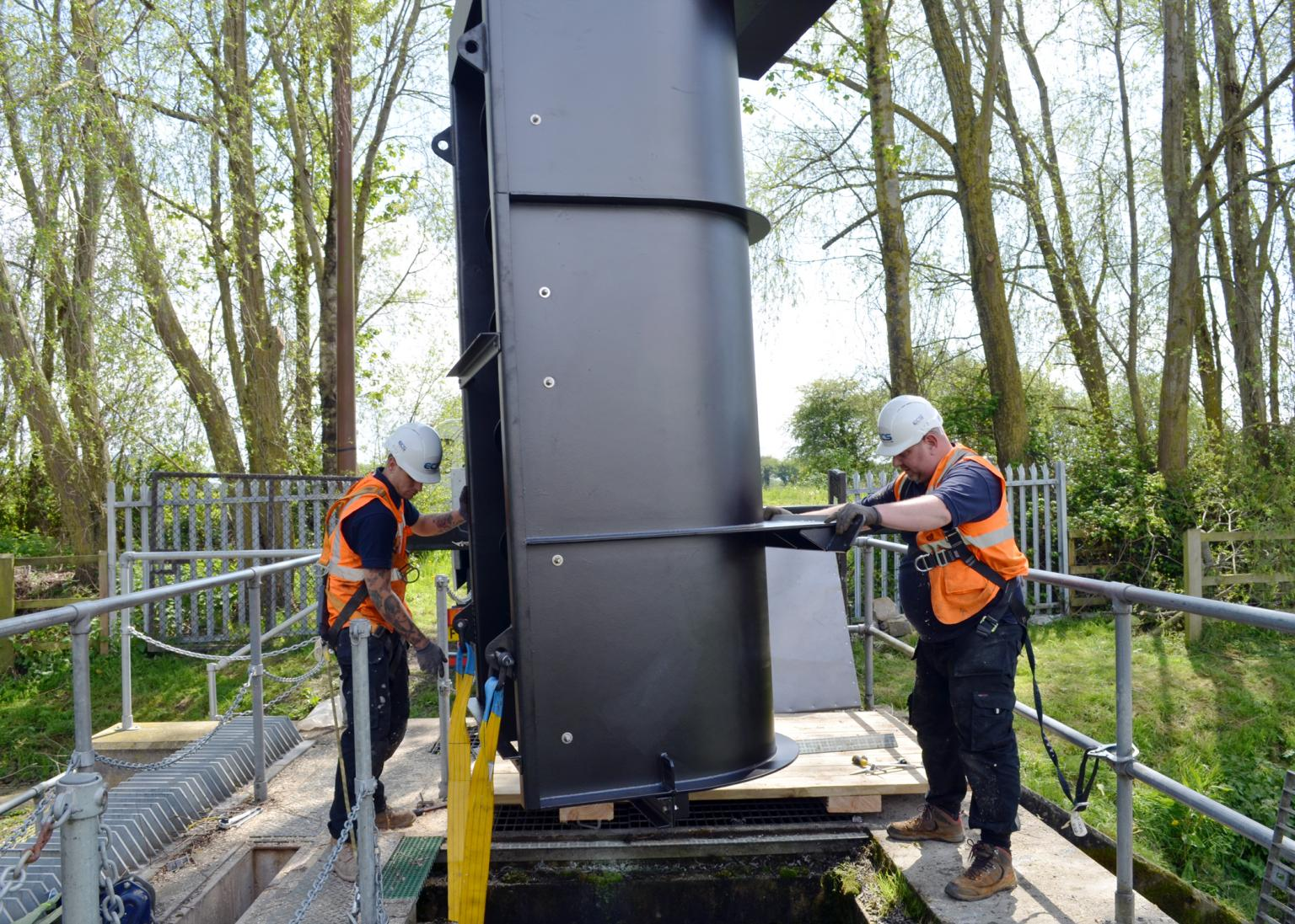The Archimedes screw pump is delivering a 44% energy saving
