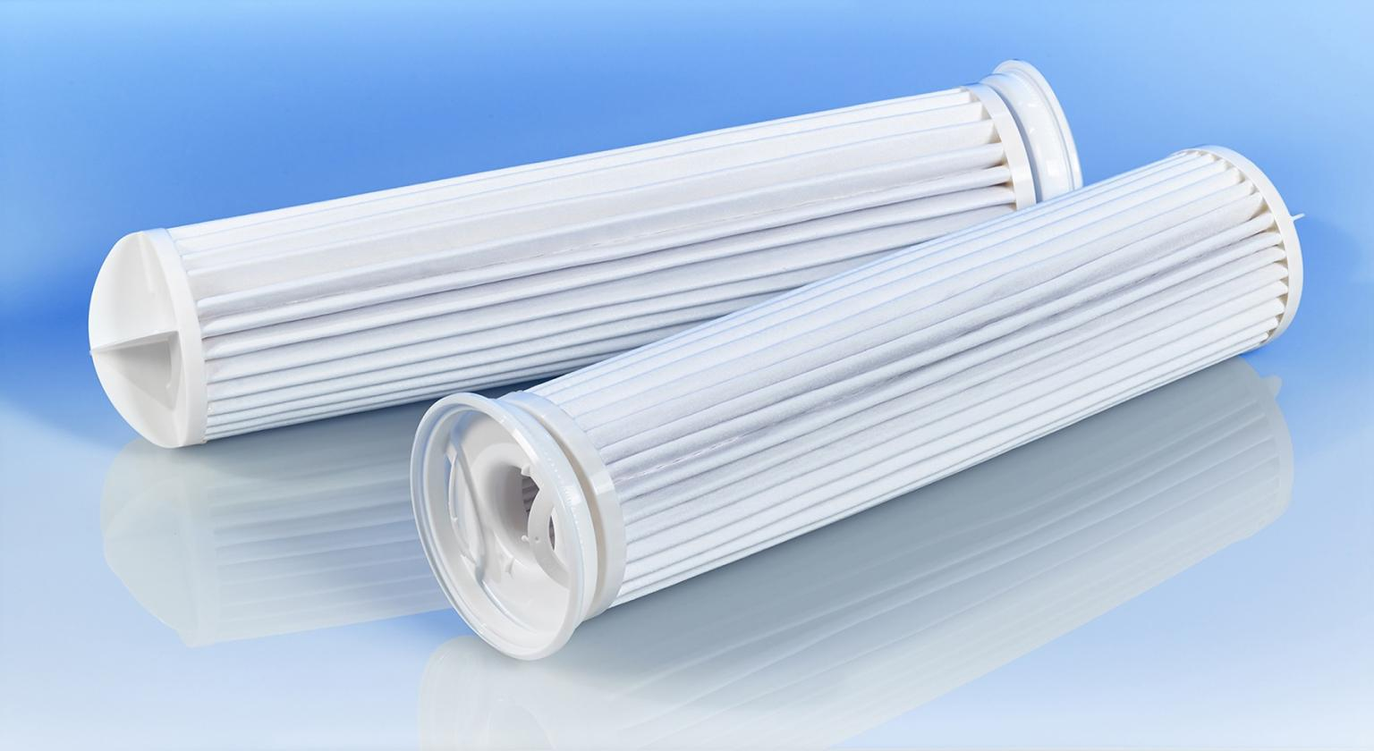 MAX-LOAD pleated filter bags increase dirt-holding capacity
