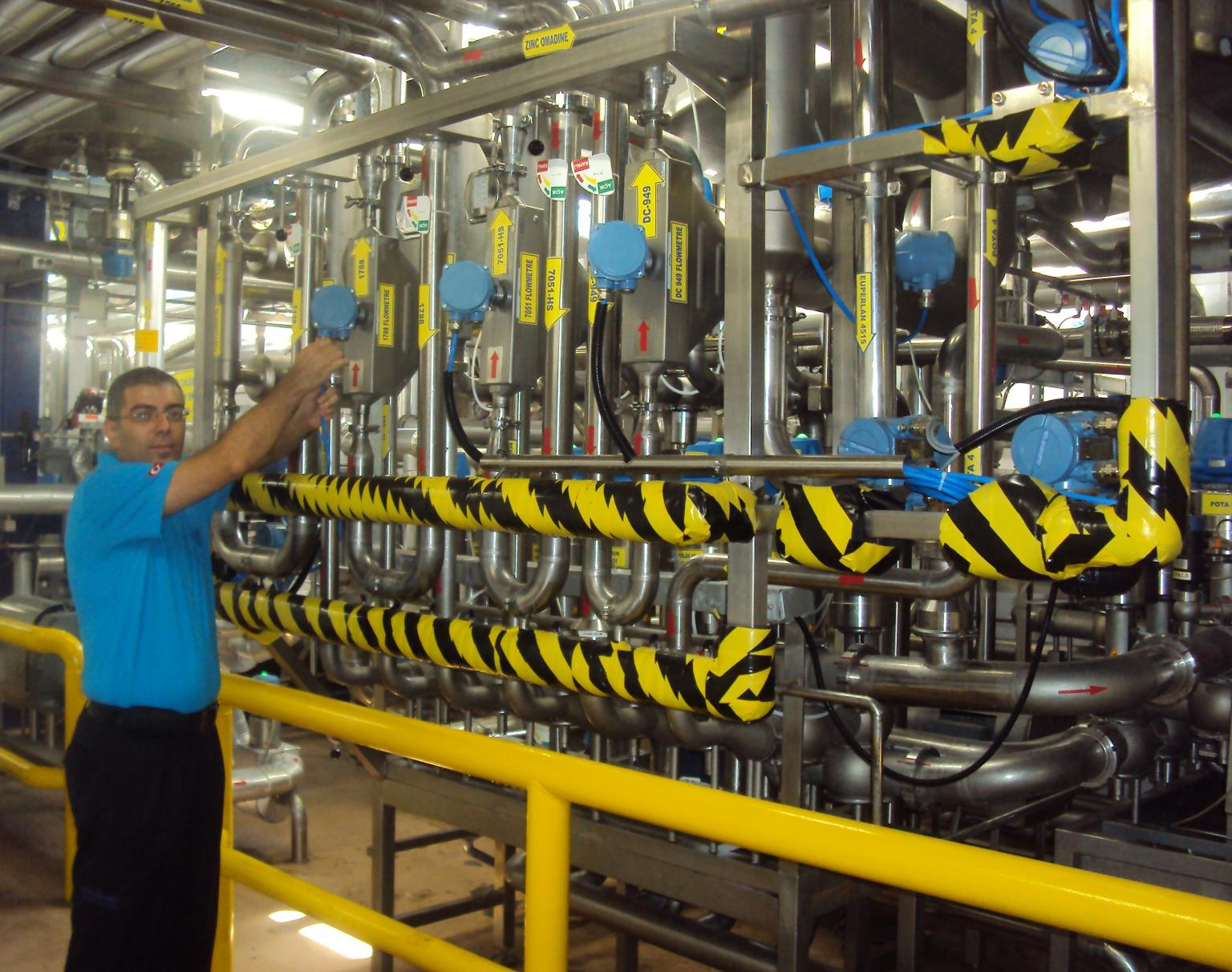 Accurate flow measurement and control has improved product quality and reduced production time at Unilever's Gebze plant