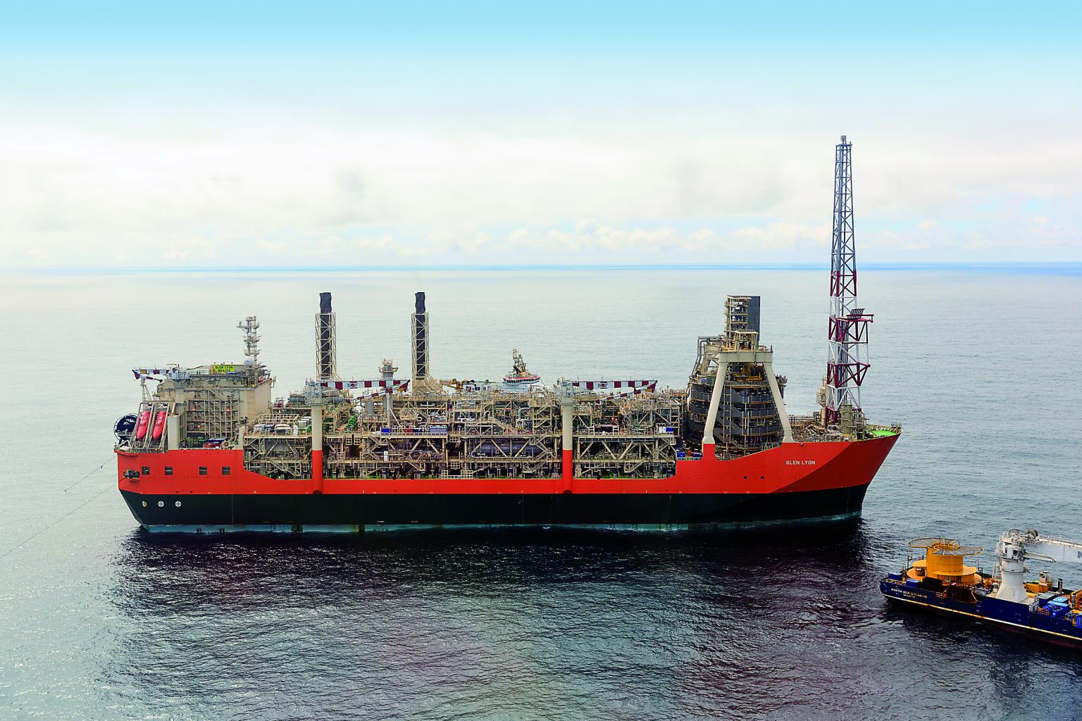 Emerson has completed its multi-year, US$90 million automated prject for BP's Glen Lyon floating FPS0 vessel west of Shetland
