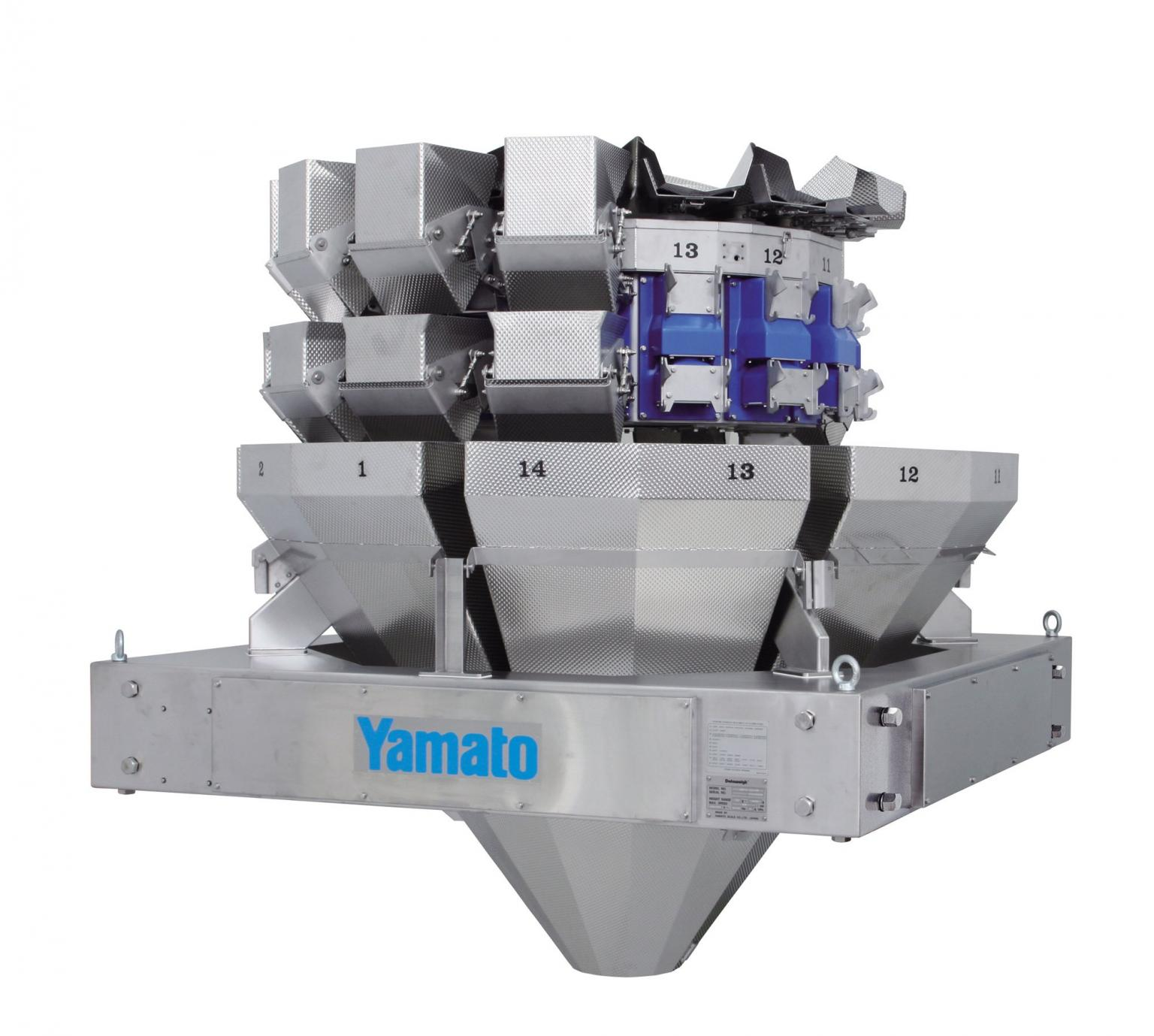 Yamato is to launch its new Dataweigh EPSILON range of multihead weighers