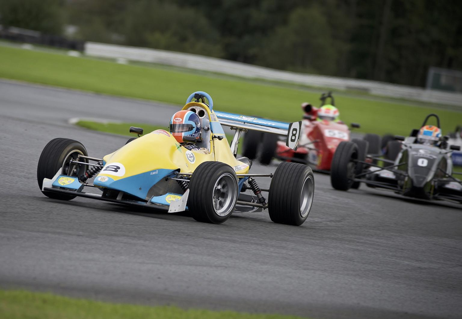 Jedi F1000s in action with innovative Lee Spring components
