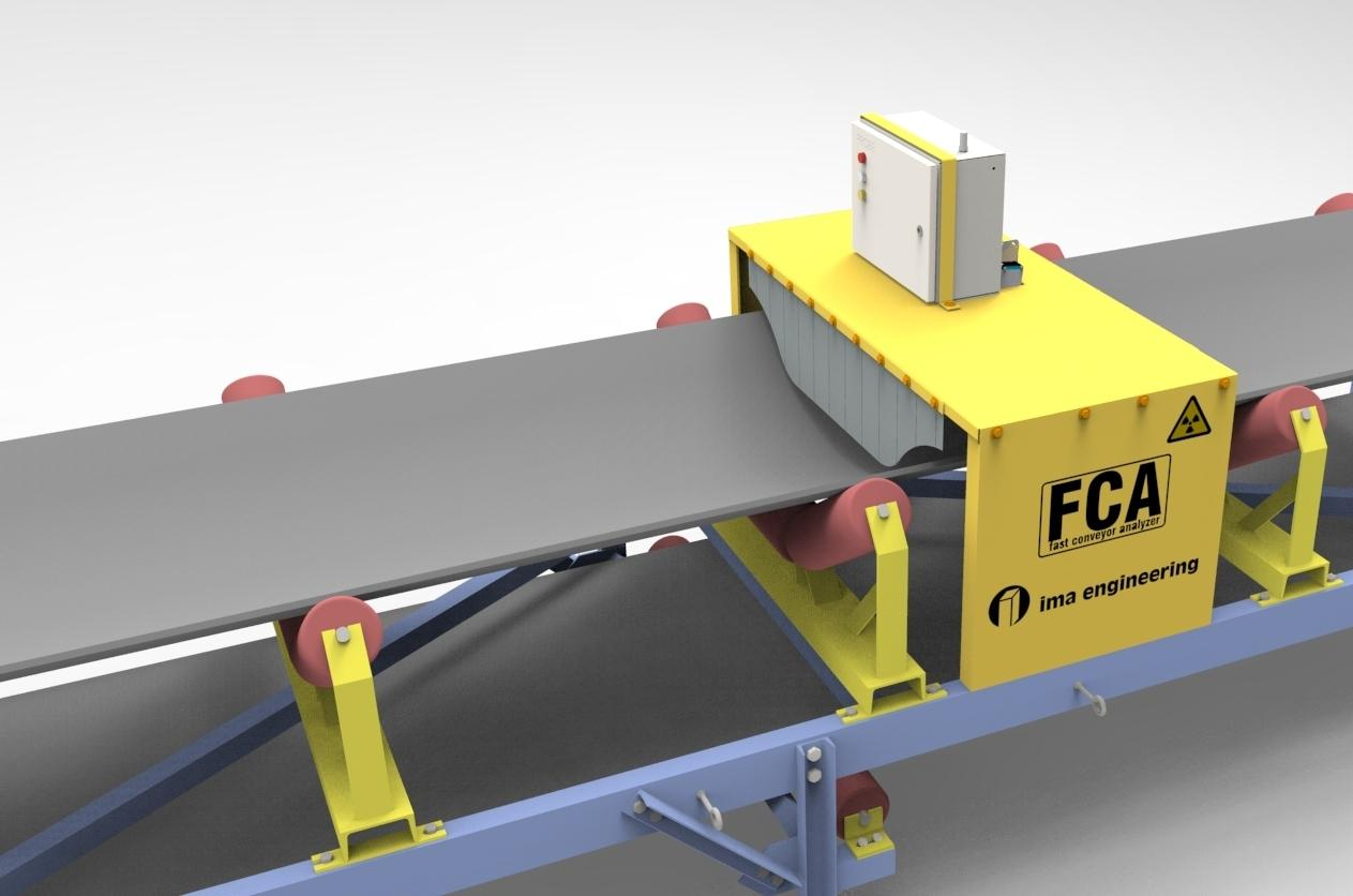 IMA has launched a new version of its FCA (Fast Conveyor Analyser), ore-grade loading control system