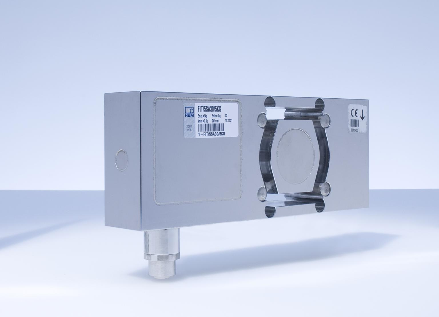 The FIT5A digital load cell for speed and reliability in dynamic weight checks