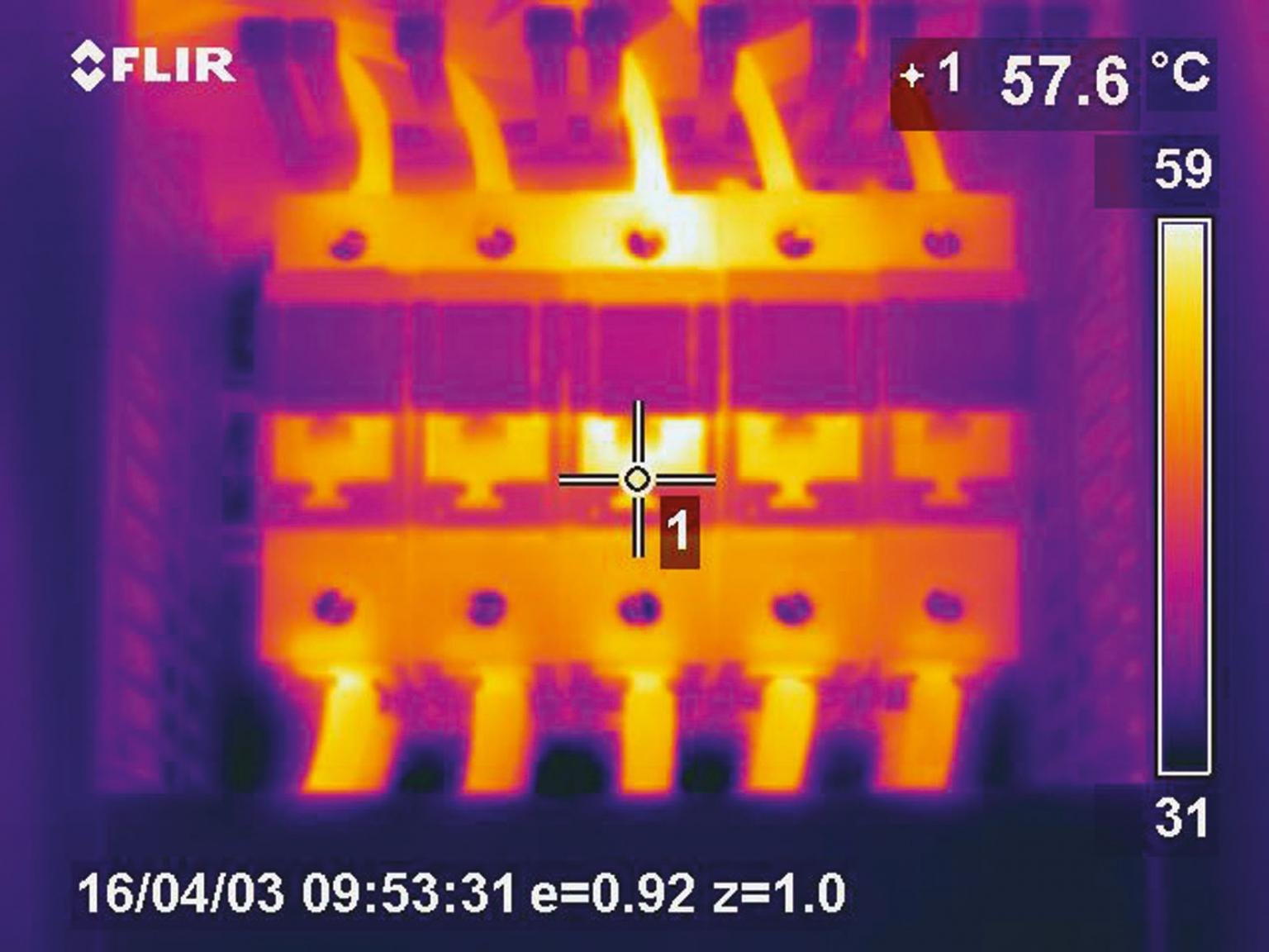Electrical inspections and level detection of tanks are just a few infrared applications at BASF