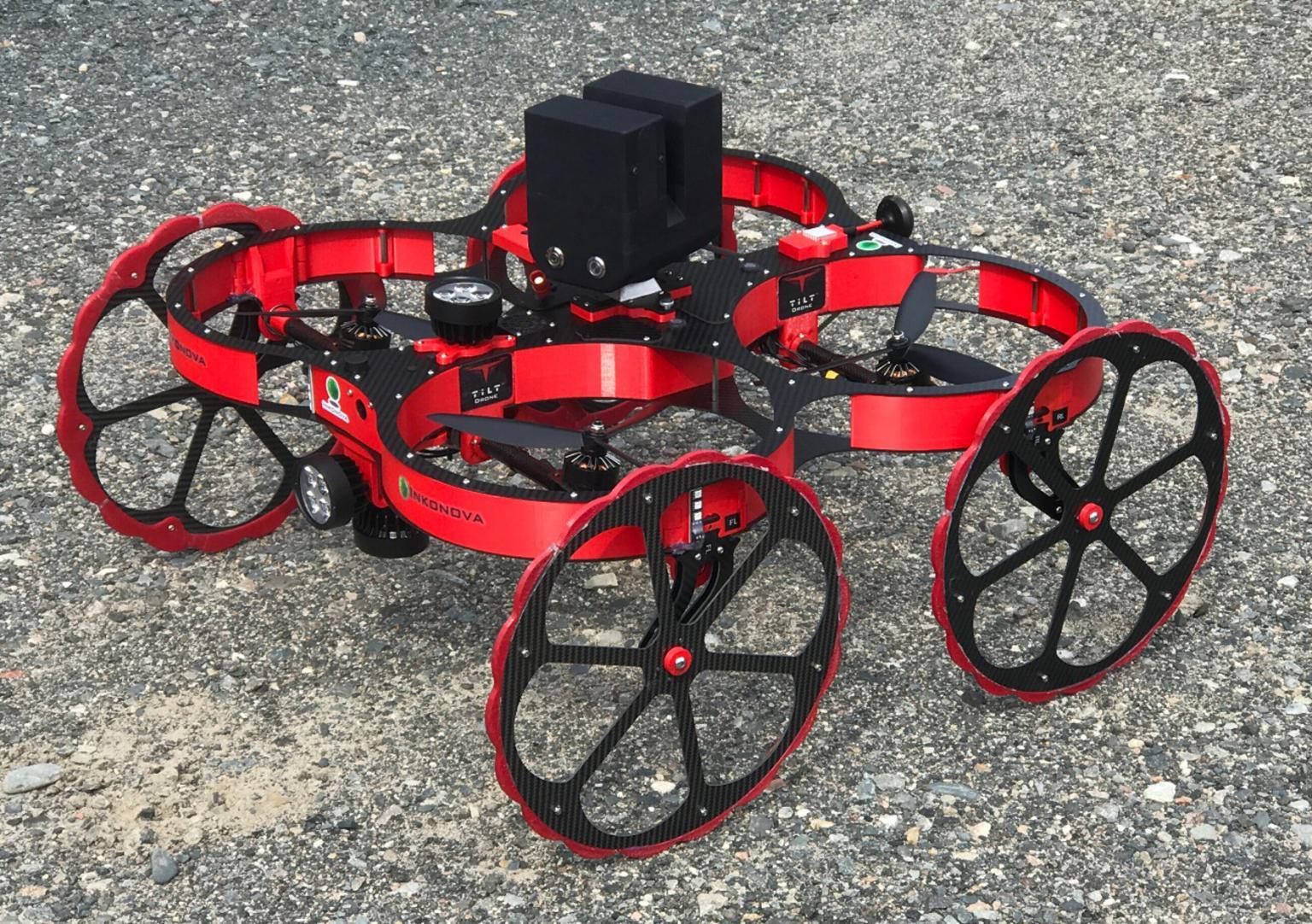 Fig.1. Tilt Ranger drone