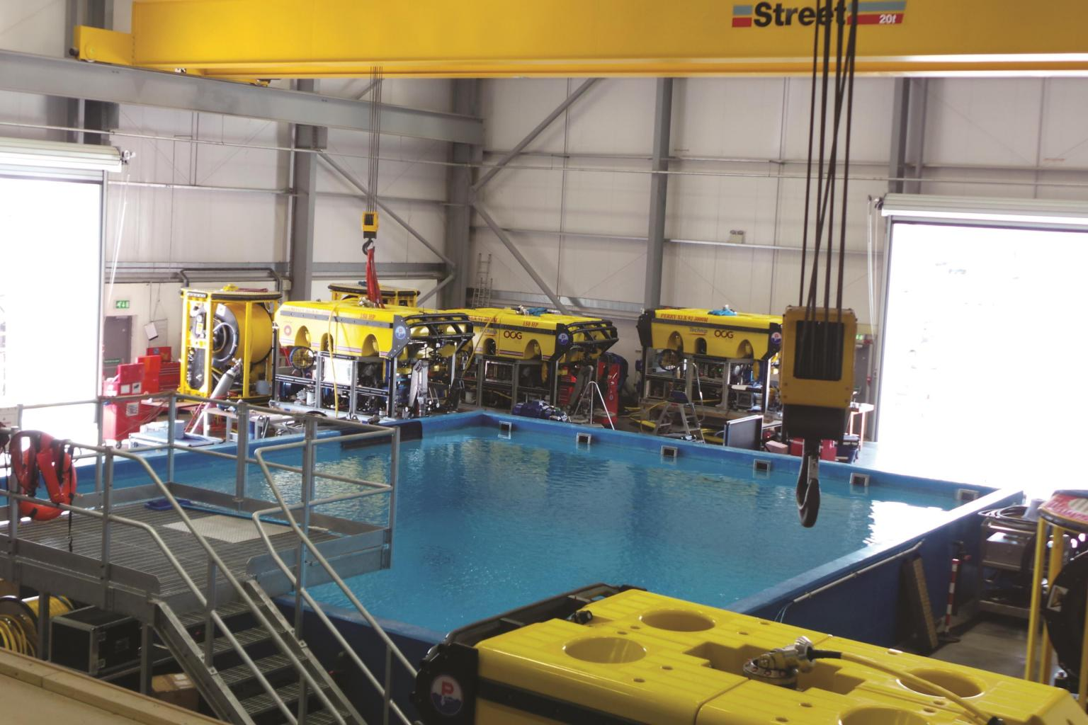 Forum launches one of its deep-water test tank facilities in Aberdeen