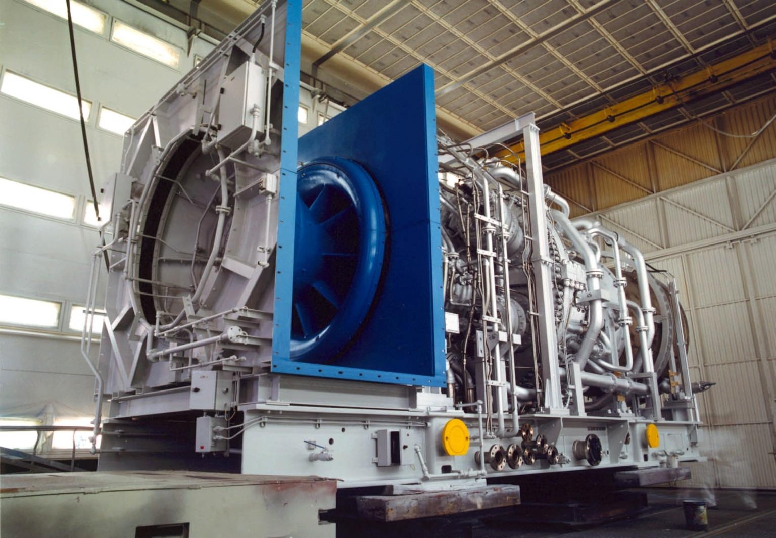 GE is supplying nine of its ecomagination qualified LM6000 aeroderivative gas turbines to new power projects in Turkmenistan