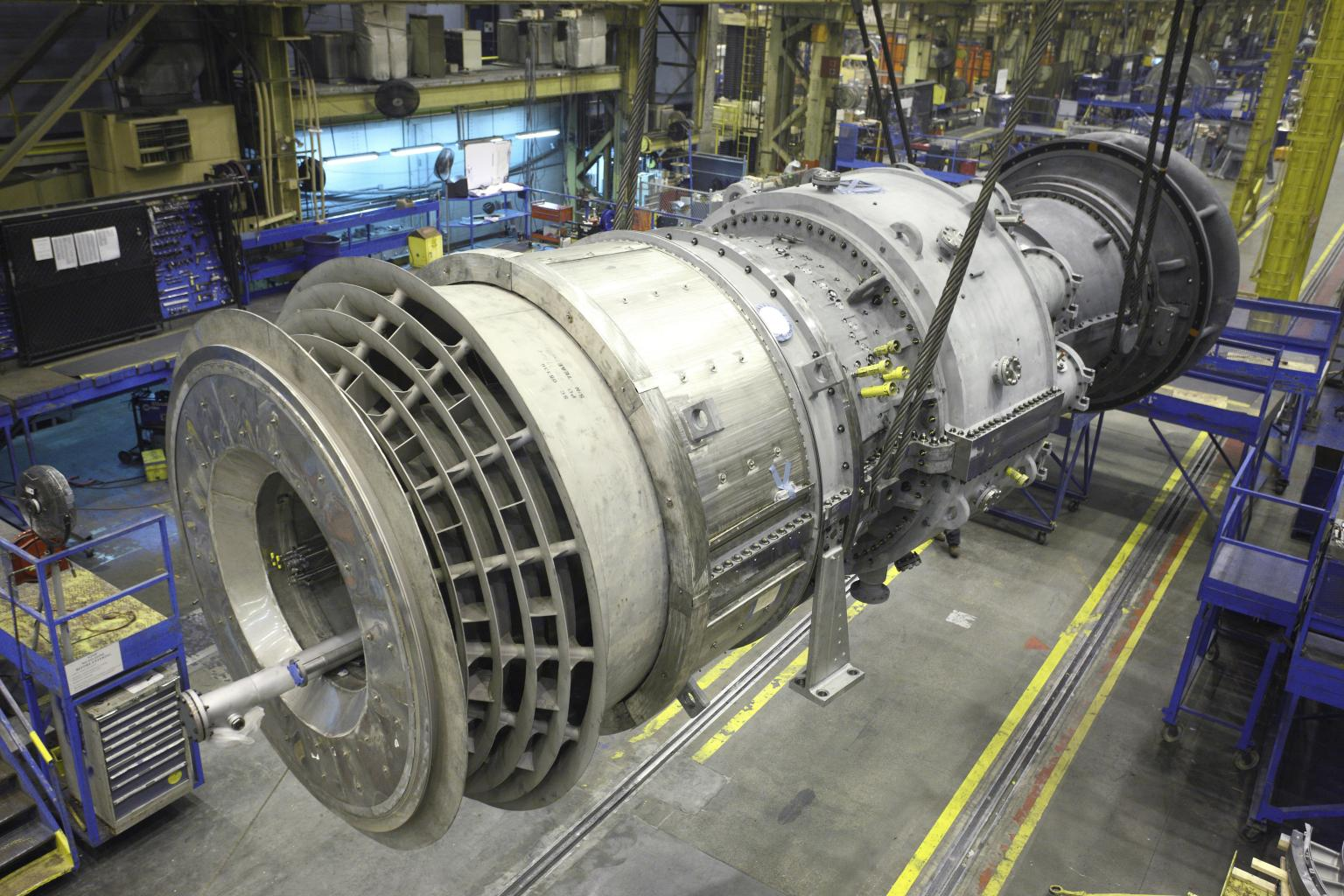The 7E 3-series gas turbine features low emissions, helping users to meet increasingly stringent air quality standards