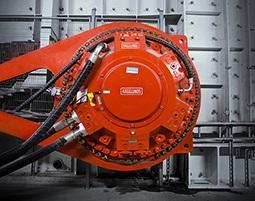 Hägglunds CBM motors were deployed