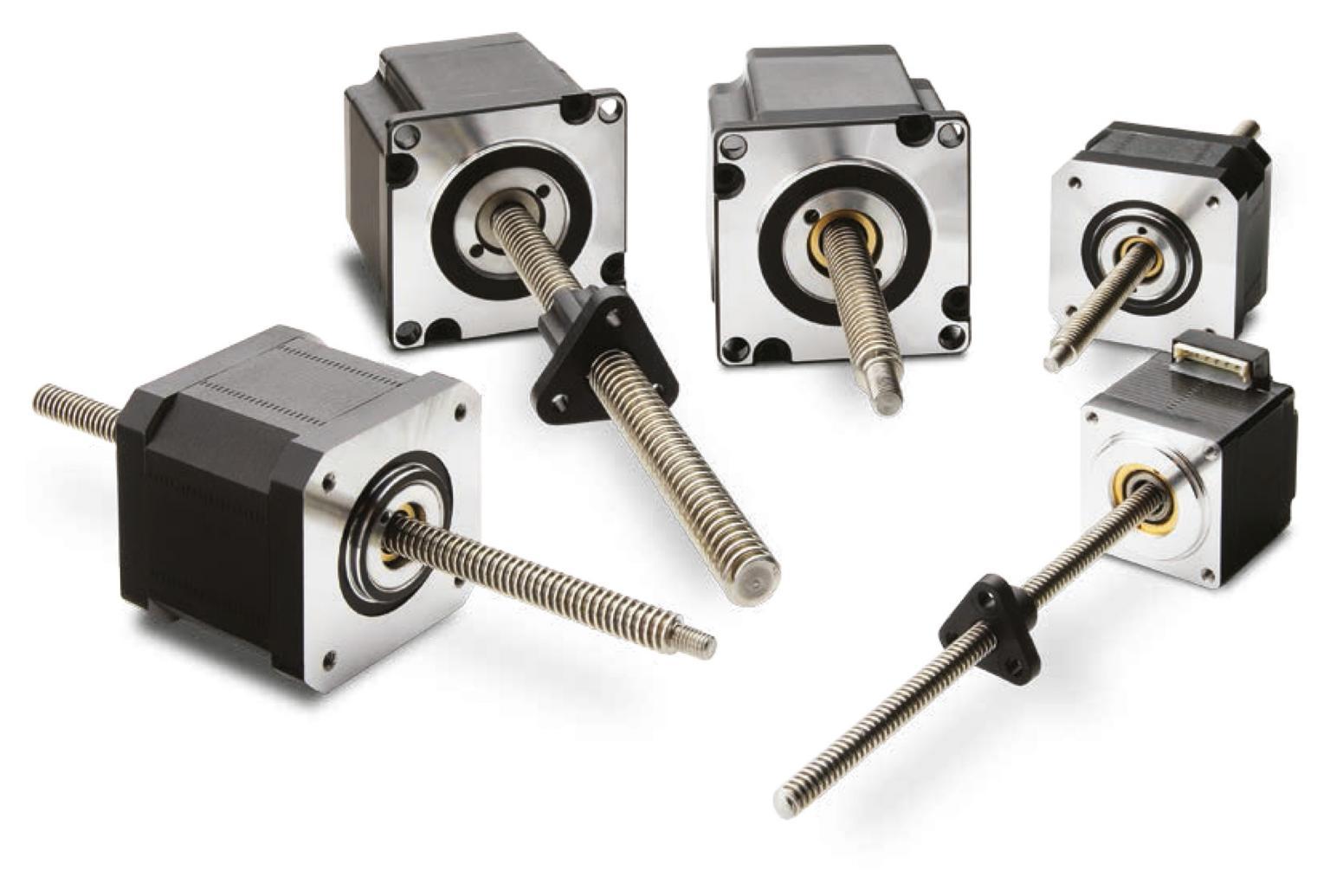 Thomson's new ML series stepper motorised leadscrews - available from Heason Technology