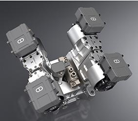 Camcon's IVT replaces a traditional camshaft with digitally controlled electric motors