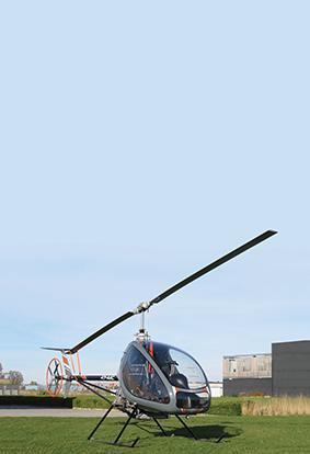 The H3 Easy Flyer ultralight helicopter