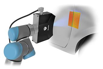 Gocater in use on a car door