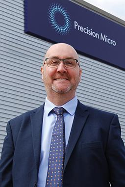 Karl Hollis from Precision Micro