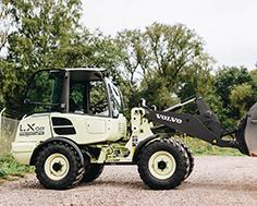 Volvo's LX2 electric wheel loader