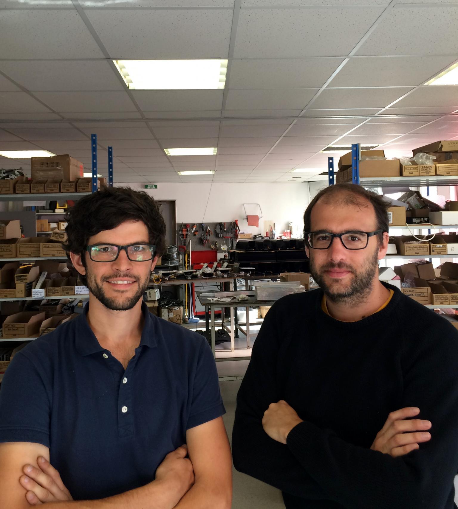 Alexandre Boullot and Bertrand Pellet