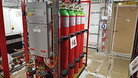 A typical Inert gas skid
