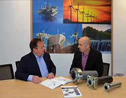 Hans de Lang at Royal IHC (left) and Ramiz Selimbasic at Parker Hannifin (right) are convinced of the advantages of HPF