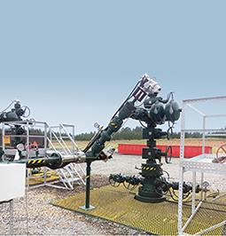 The IQTF actuators will carry out modulating duties on shale gas wellheads in East Texas