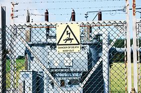 All substations are subject to strict safety standards. Any fires could be catastrophic
