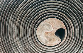 Spiral heat exchangers are difficult to service