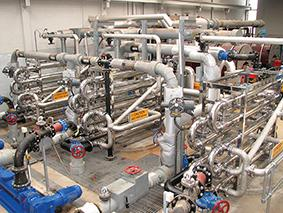 HRS tube-in-tube heat exchangers