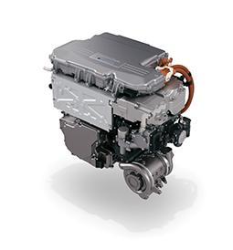 Honda's fuel cell unit
