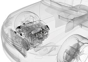 Exhaust gas recirculation schematic