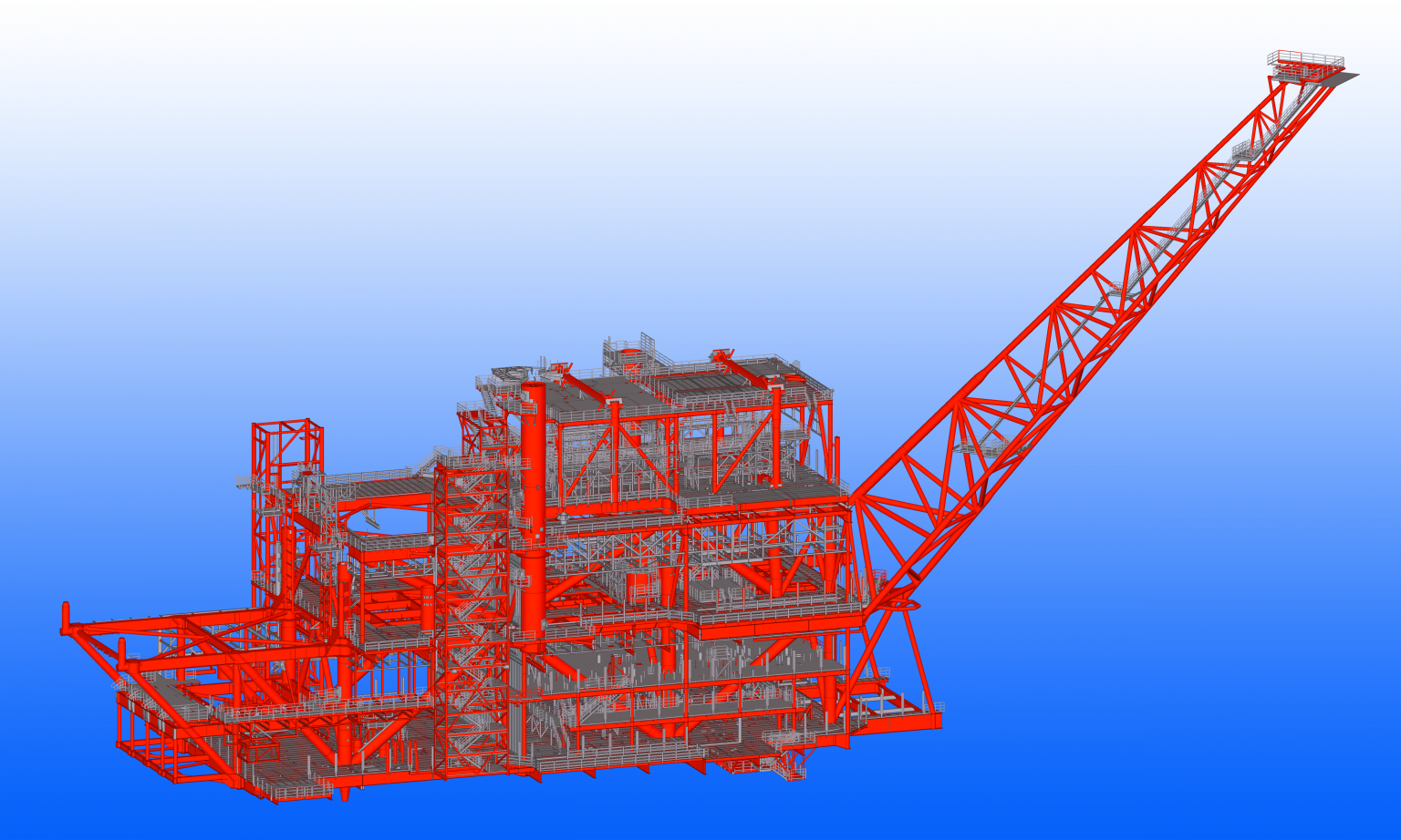 Iv-Consult offers its clients the option of modelling all the welds of the structure into the detailing model