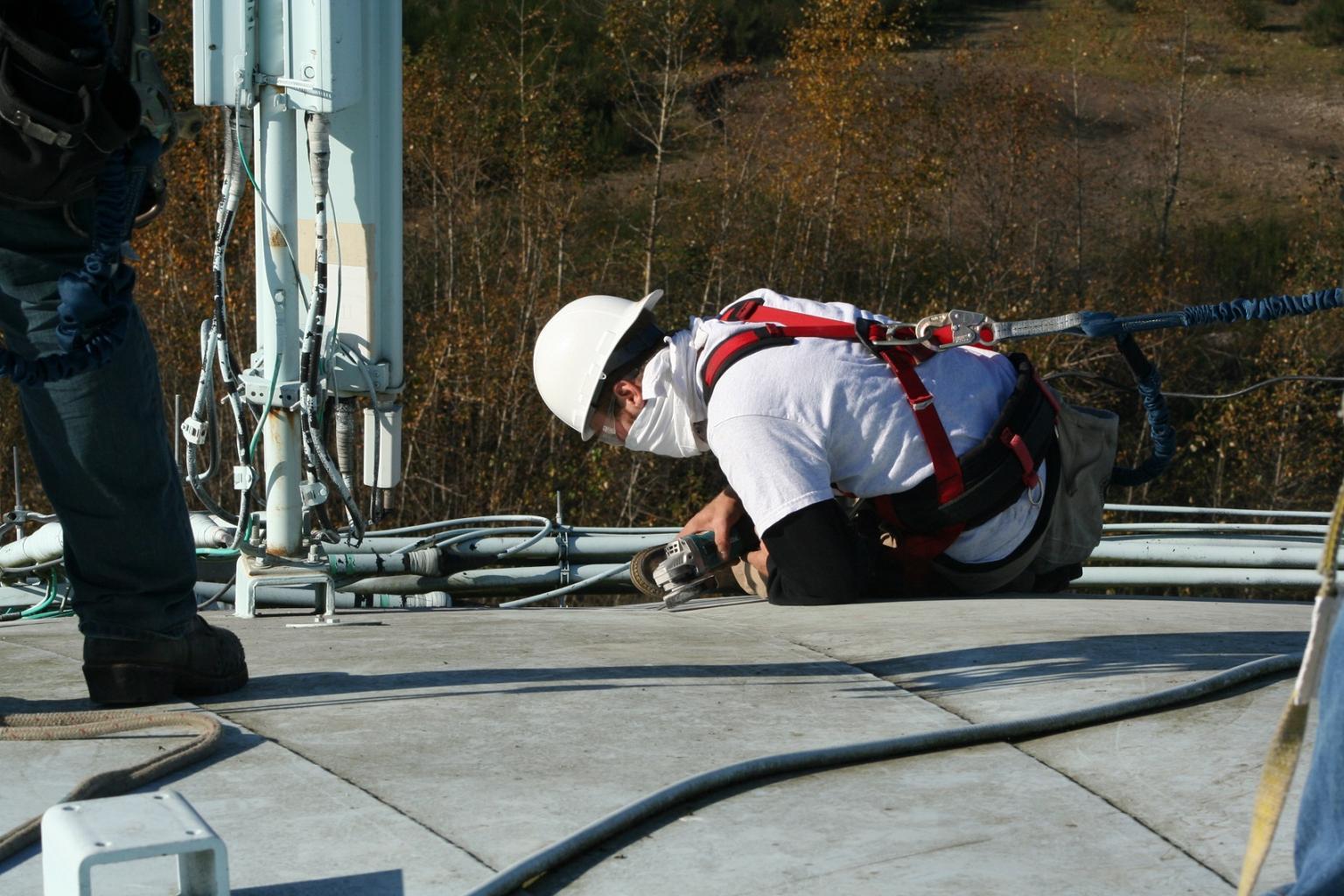 Optimal surface preparation achieved prior to bonding