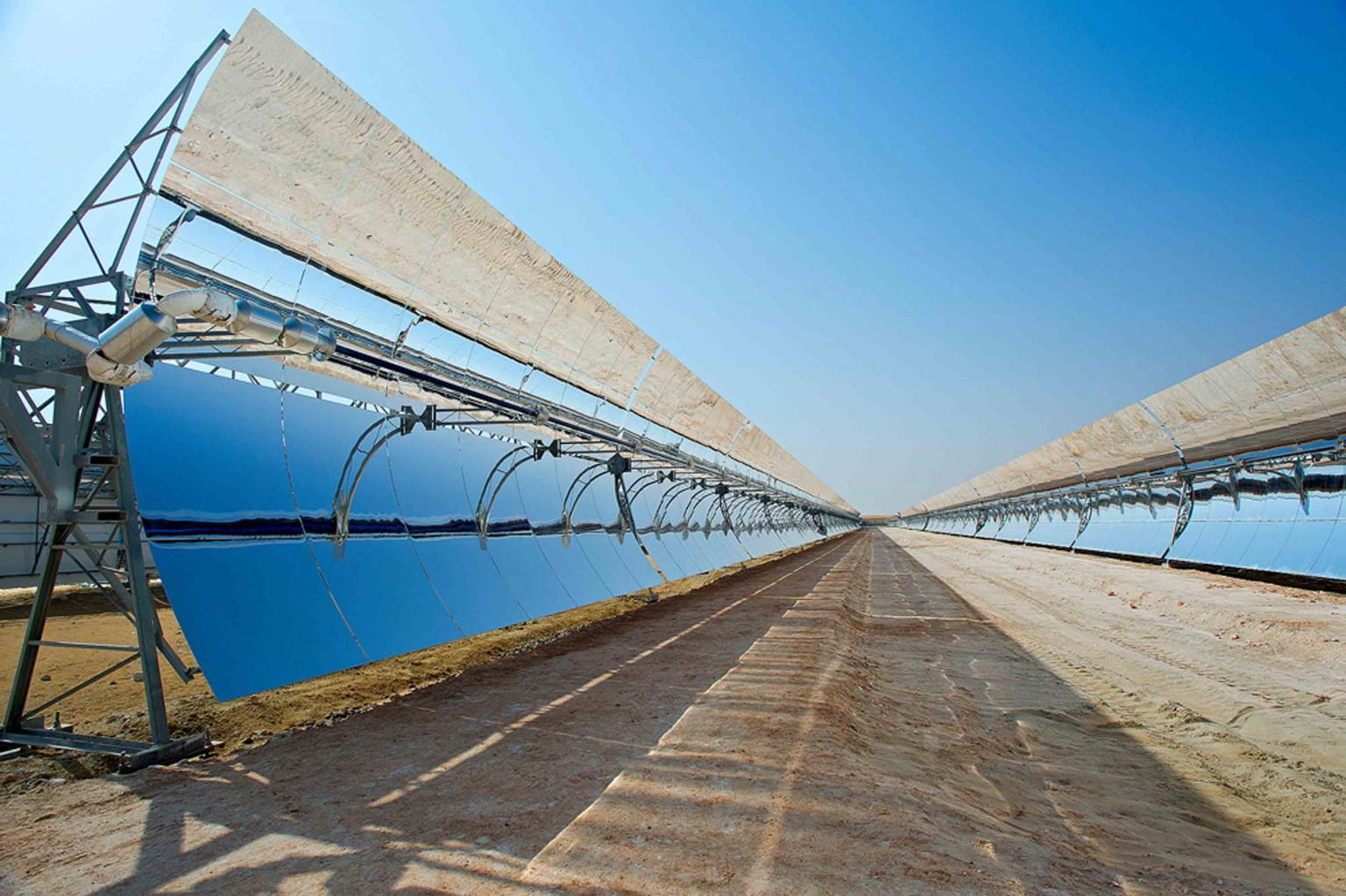 Solar is the critical resource and focus for the UAE, with different forms of solar energy accounting for more than 90% of renewable energy use in the International Renewable Energy Agency REmap 2030 report. Photos: Masdar Institute