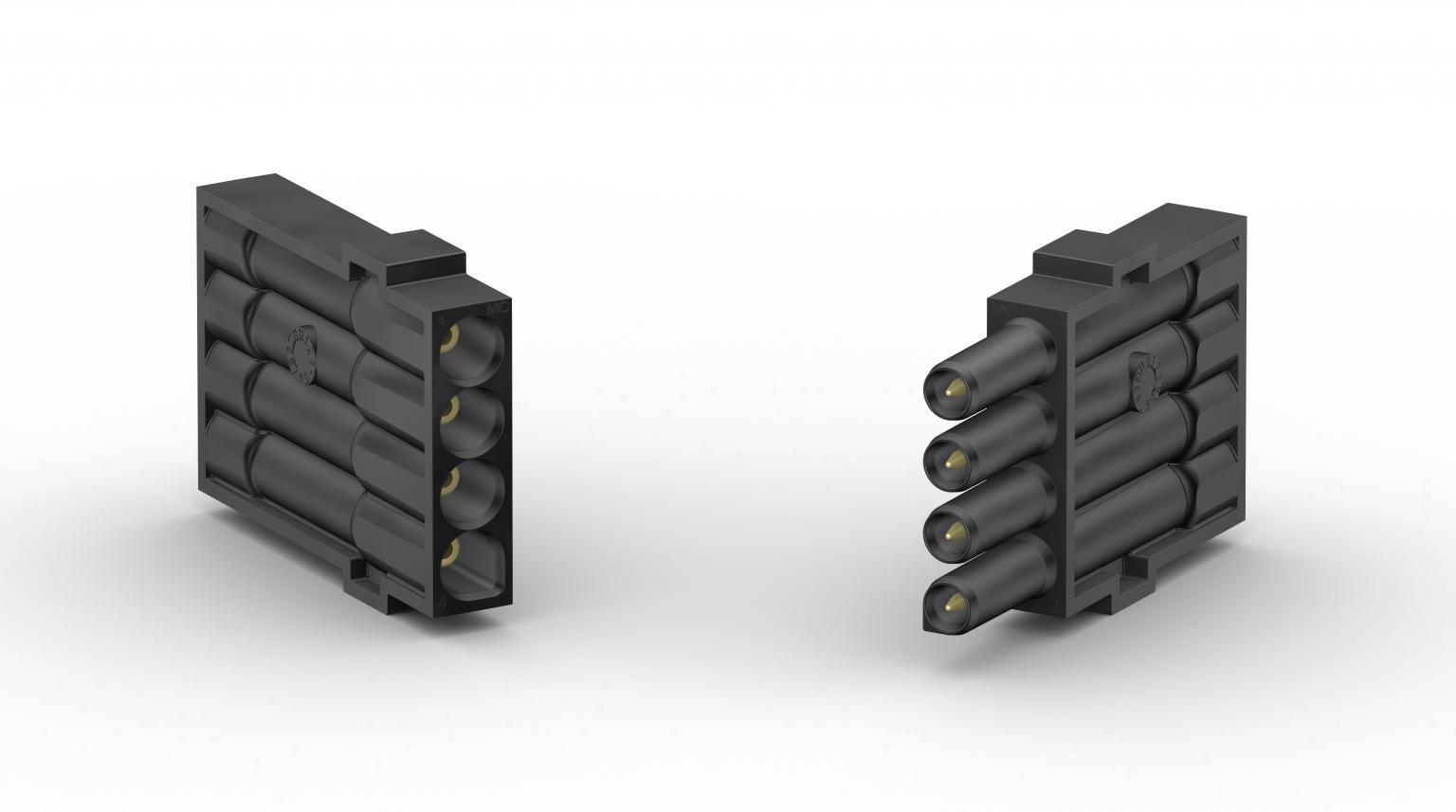 The socket (left) and plug (right) versions of the new Multilam flexo ML-CUX