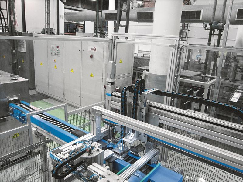 Festo electric drives ensure the production process is more reliable in the long term