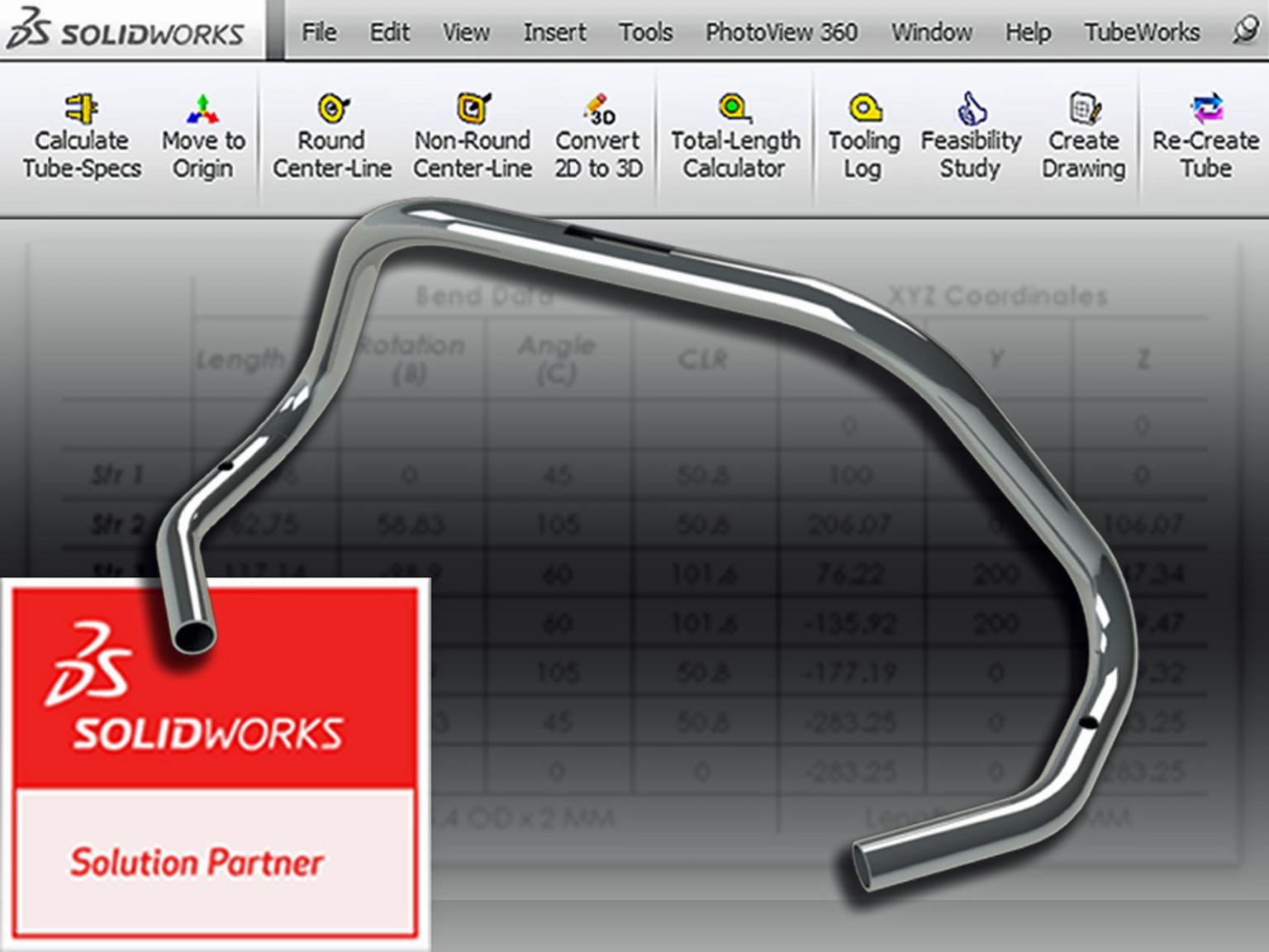 Metal fabricators who use SolidWorks CAD software can now accelerate the pre-production phase of tube bending significantly by using a new add-in available from Unison