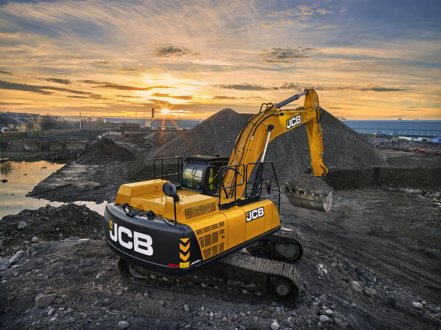 JCB is focussing its R&D efforts on operator and pedestrian safety