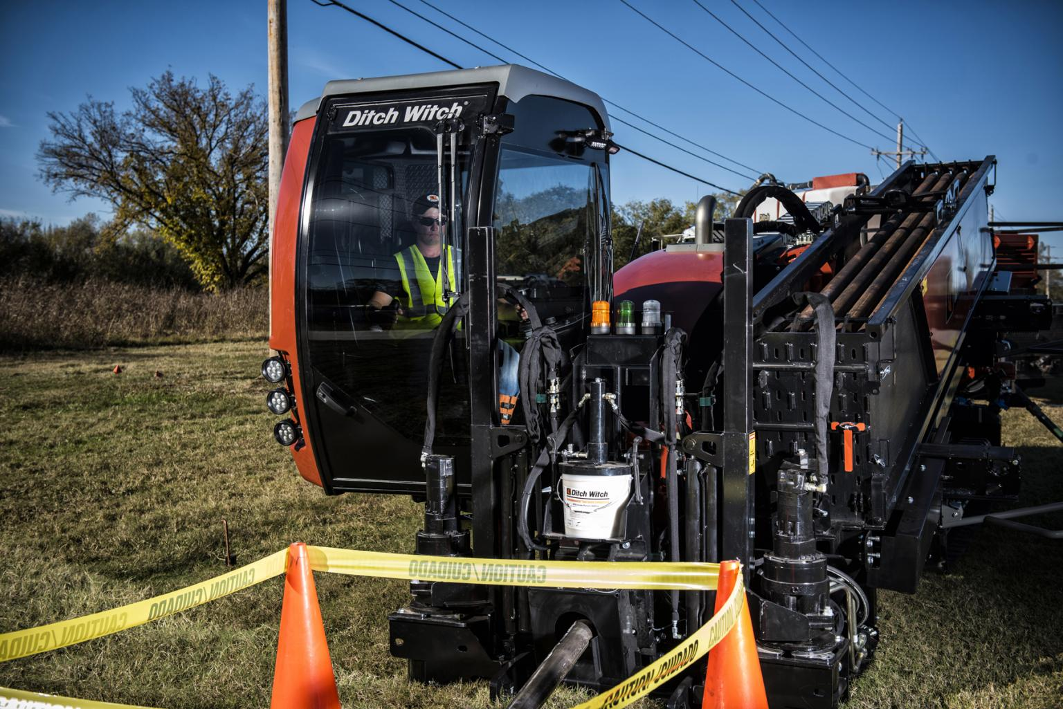 The new JT40 horizontal directional drill from Ditch Witch