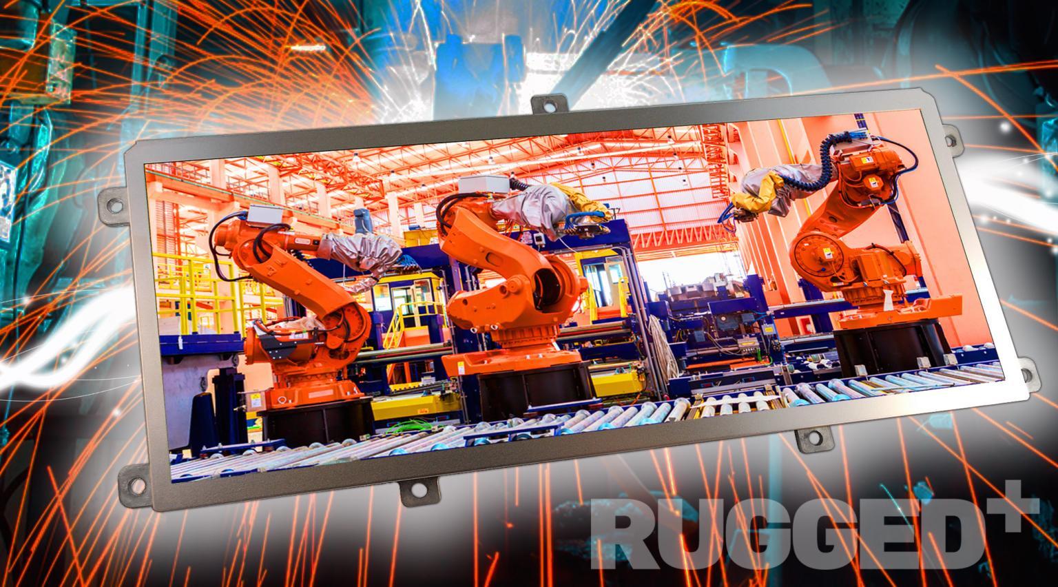 KOE 12.3-inch Rugged+ TFT TX31D203VM0EAB