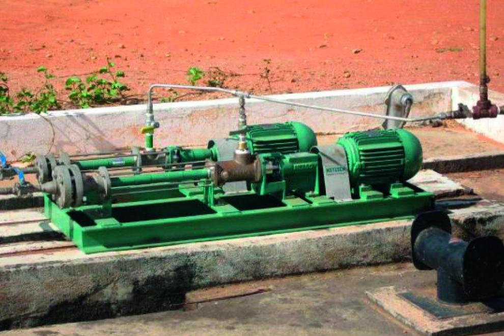 For aggressive media Nemo pumps come in a variety of material combinations