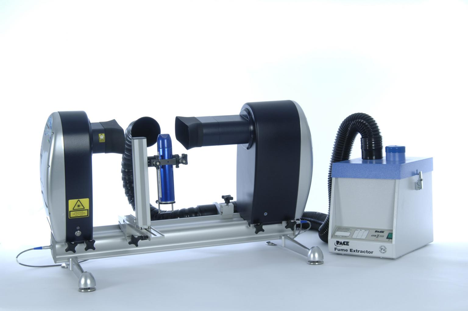Malvern Instruments' Spraytec laser diffraction droplet size analyser