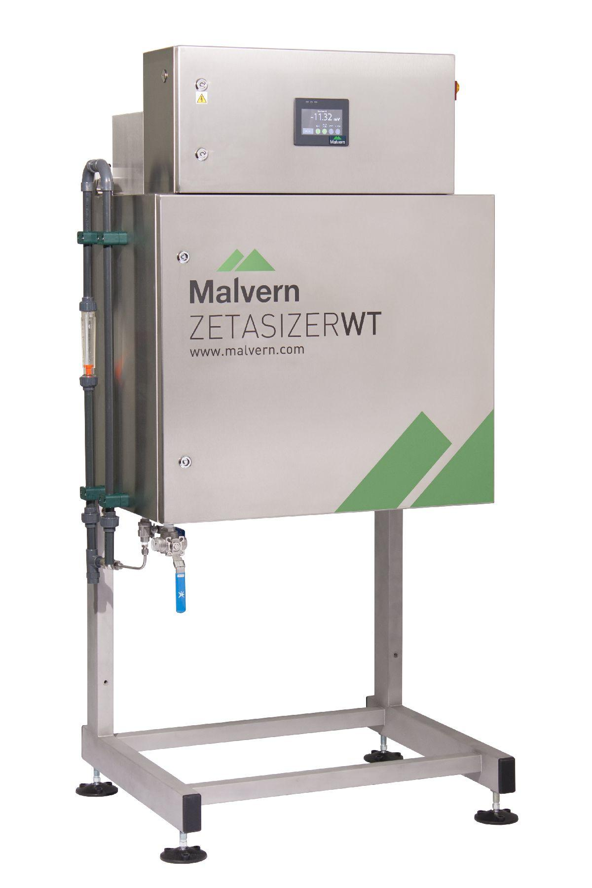 The new Zetasizer WT, an automated continuous monitoring solution for water purification