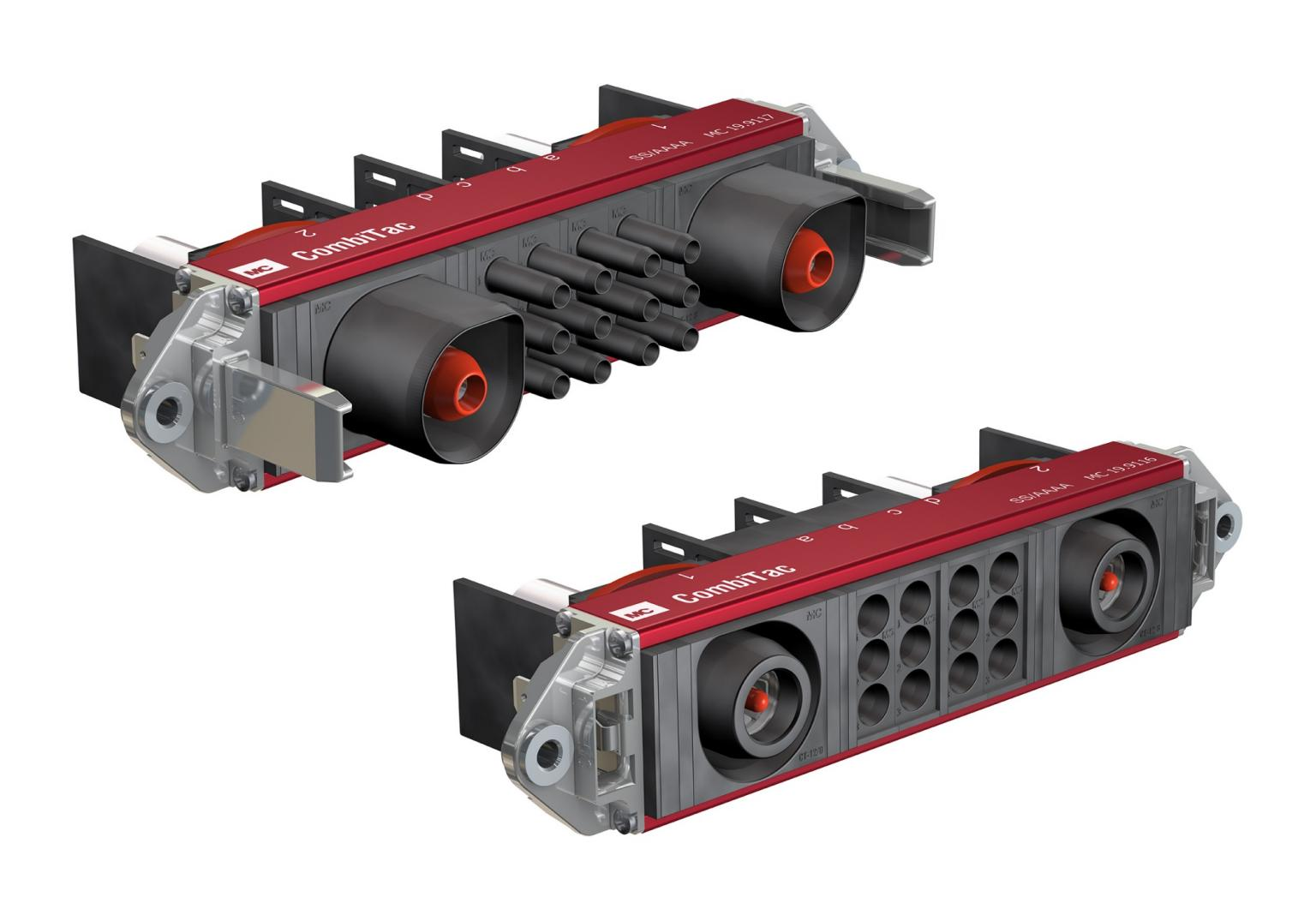 Battery packs used on rolling stock and other rail applications can now be connected using the CombiTac connector system from Multi-Contact