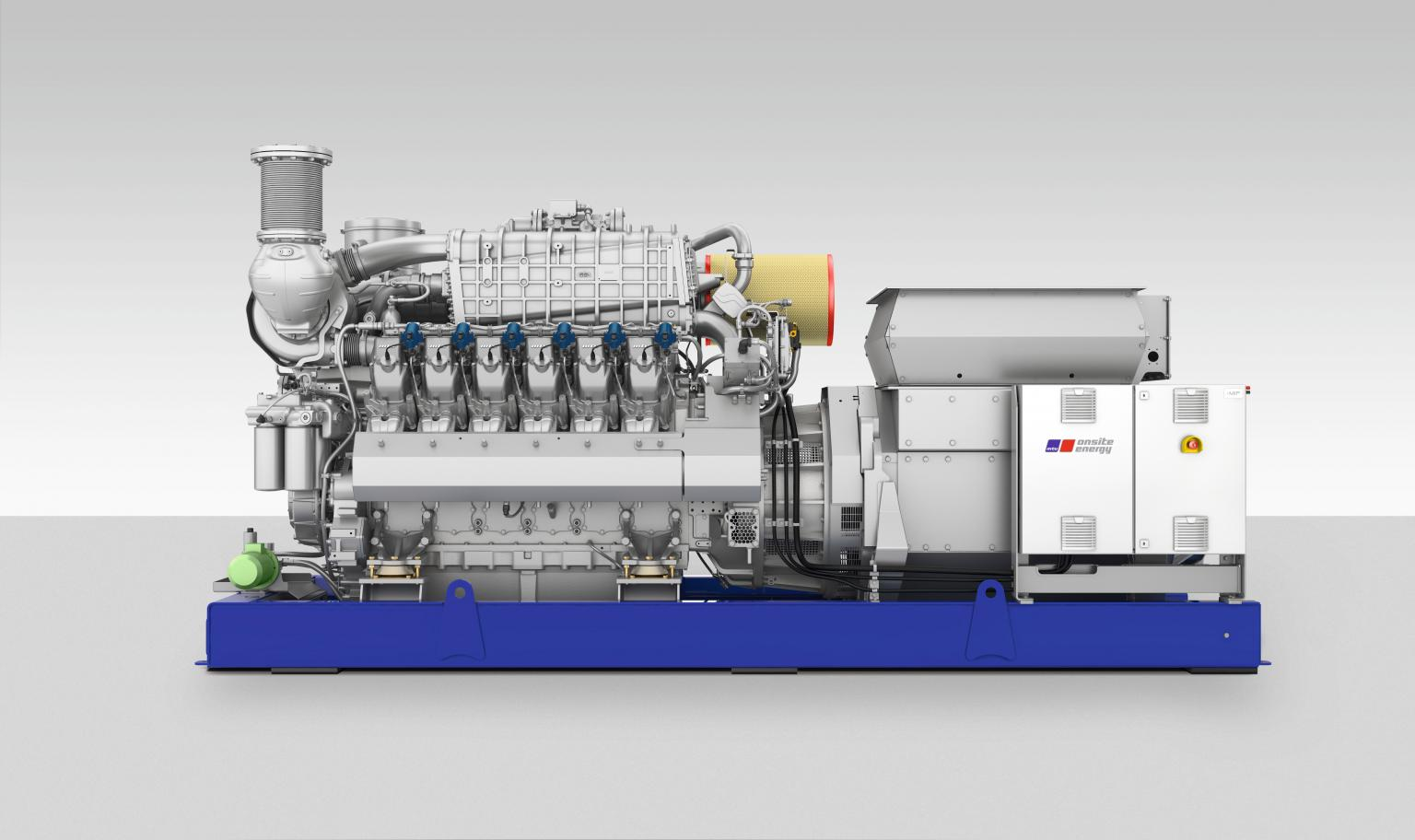MTU Onsite Energy gensets are ideal for use in hybrid power plants