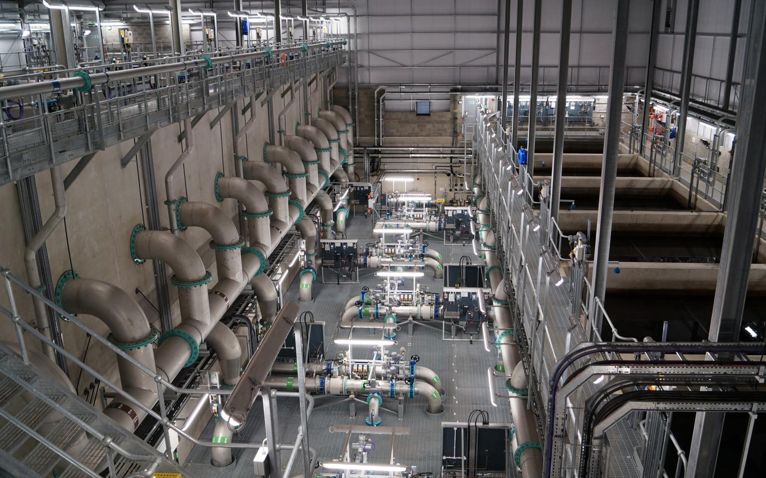 Dee Valley Water's £17m flagship water treatment works at Llwyn Onn, North Wales, is controlled from inlet-to-outlet by a Mitsubishi Electric system redundant, Q series modular PLC solution